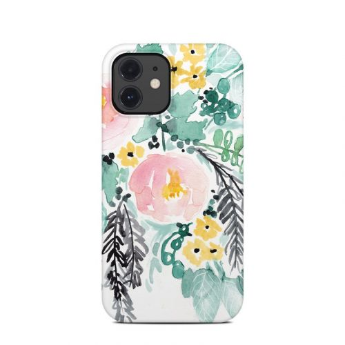 Blushed Flowers iPhone 12 Clip Case