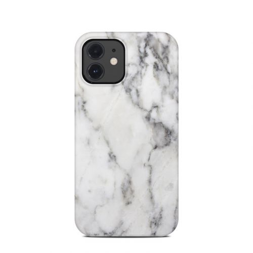 White Marble iPhone 12 Clip Case