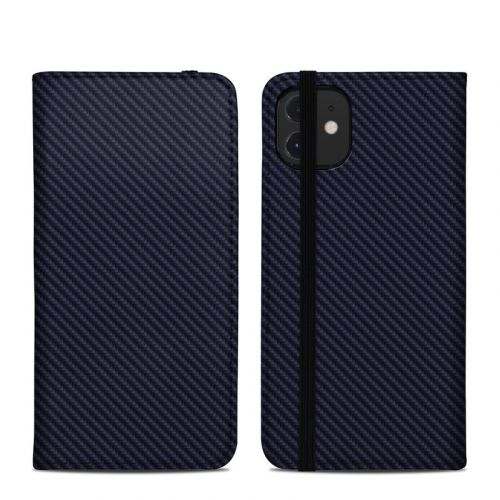 Carbon iPhone 12 Folio Case