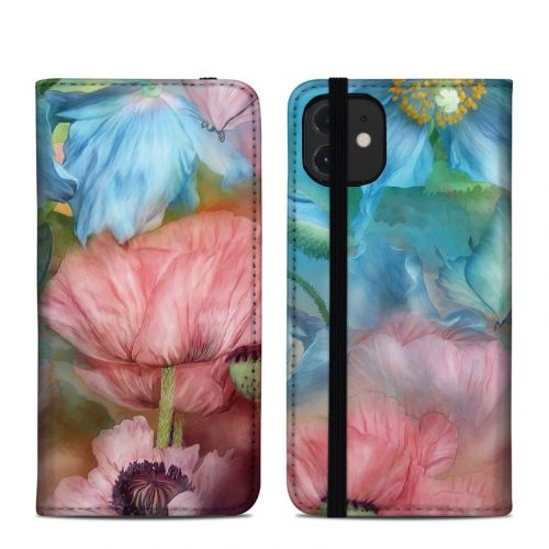 Poppy Garden iPhone 12 Folio Case