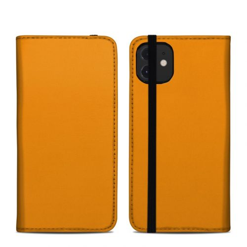 Solid State Orange iPhone 12 Folio Case