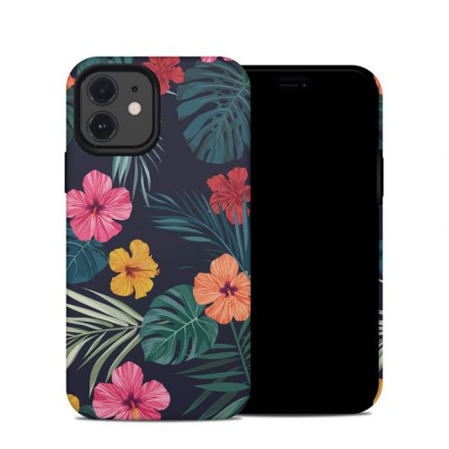 Tropical Hibiscus iPhone 12 Hybrid Case