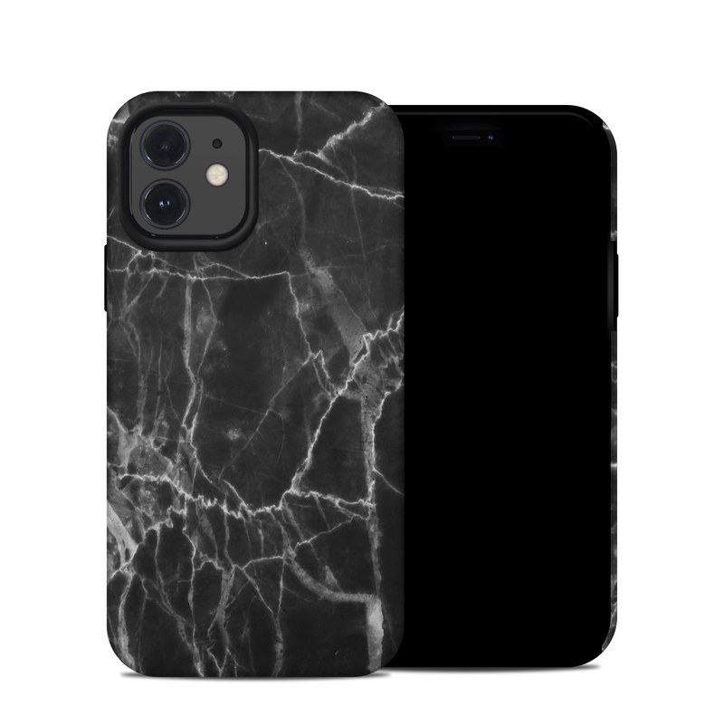 iPhone 12 Hybrid Case design of Black, White, Nature, Black-and-white, Monochrome photography, Branch, Atmosphere, Atmospheric phenomenon, Tree, Sky with black, white colors