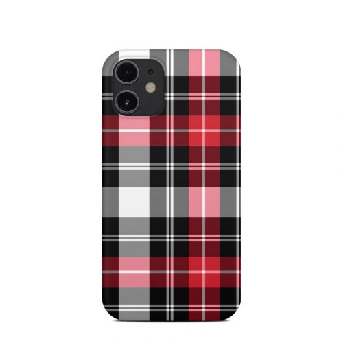 Red Plaid iPhone 12 mini Clip Case