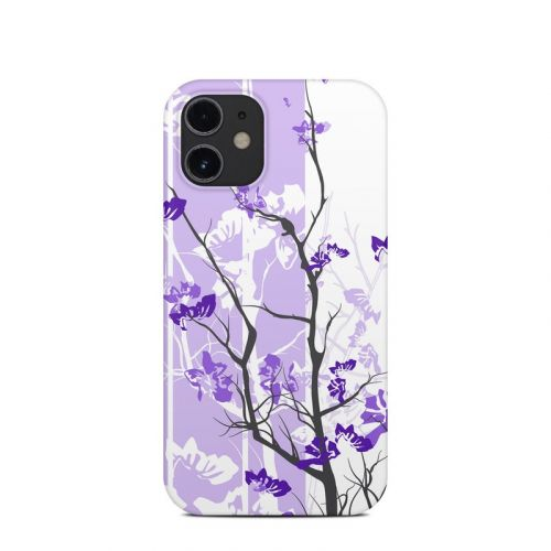 Violet Tranquility iPhone 12 mini Clip Case