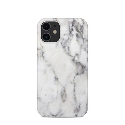 White Marble iPhone 12 mini Clip Case