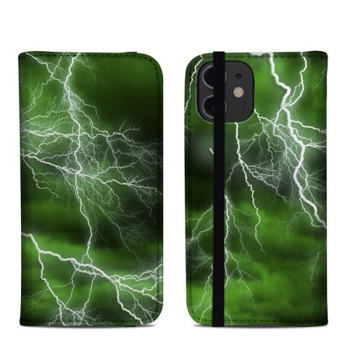 Apocalypse Green iPhone 12 mini Folio Case