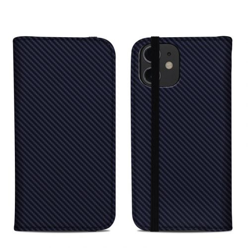 Carbon iPhone 12 mini Folio Case