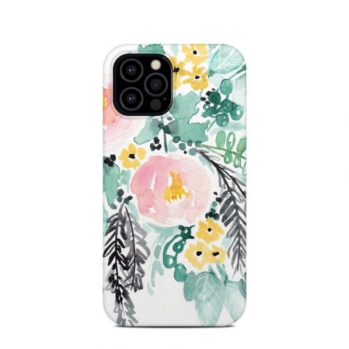 Blushed Flowers iPhone 12 Pro Clip Case