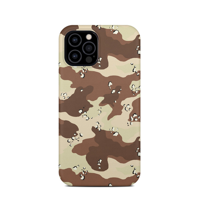 iPhone 12 Pro Clip Case design of Military camouflage, Brown, Pattern, Design, Camouflage, Textile, Beige, Illustration, Uniform, Metal with gray, red, black, green colors