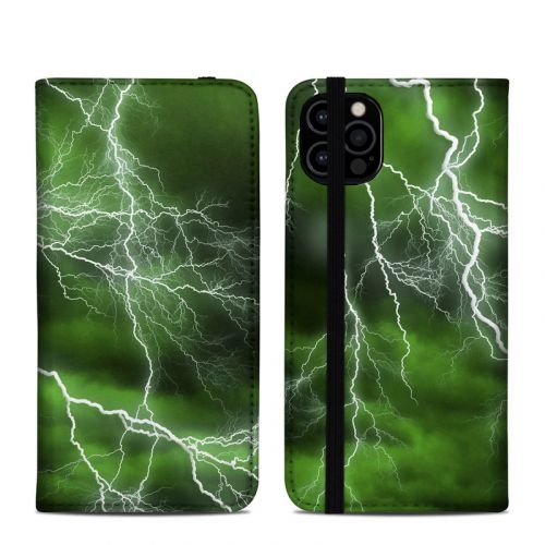 Apocalypse Green iPhone 12 Pro Folio Case