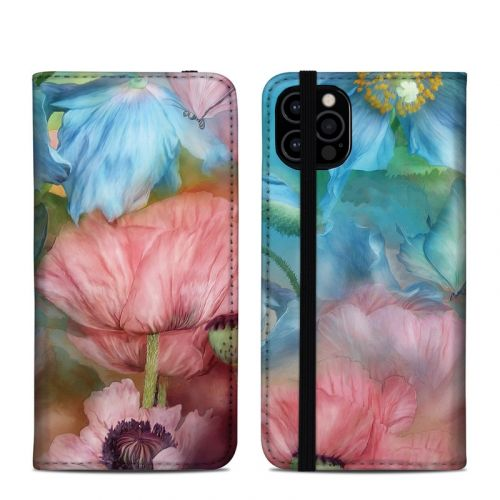 Poppy Garden iPhone 12 Pro Folio Case
