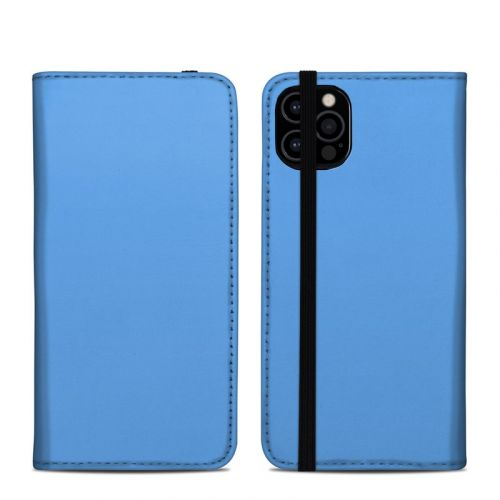 Solid State Blue iPhone 12 Pro Folio Case