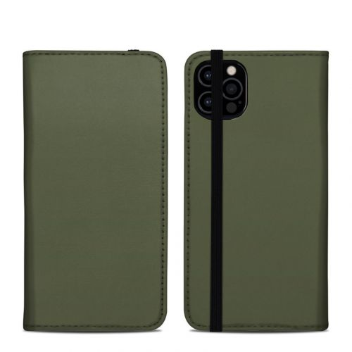 Solid State Olive Drab iPhone 12 Pro Folio Case