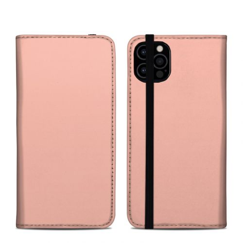 Solid State Peach iPhone 12 Pro Folio Case