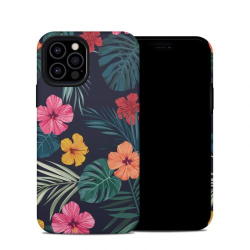 Tropical Hibiscus iPhone 12 Pro Hybrid Case