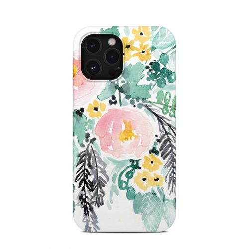 Blushed Flowers iPhone 12 Pro Max Clip Case