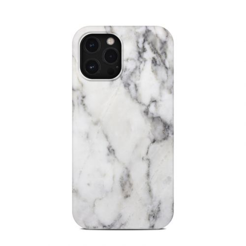 White Marble iPhone 12 Pro Max Clip Case