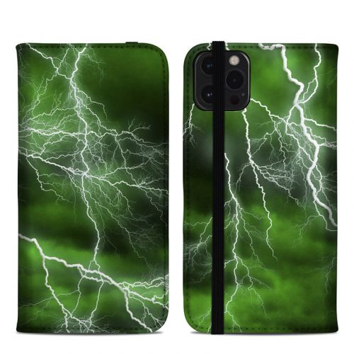 Apocalypse Green iPhone 12 Pro Max Folio Case