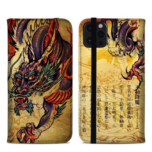 Dragon Legend iPhone 12 Pro Max Folio Case