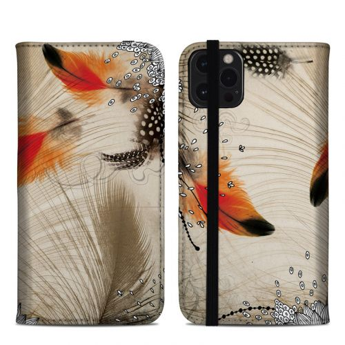Feather Dance iPhone 12 Pro Max Folio Case