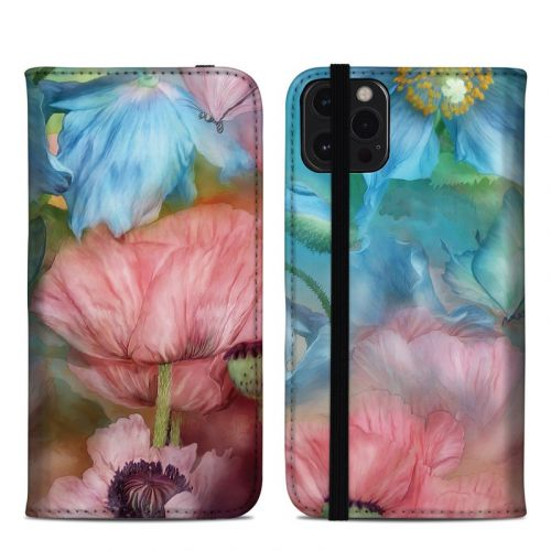 Poppy Garden iPhone 12 Pro Max Folio Case