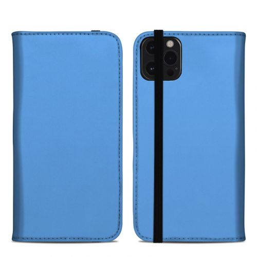 Solid State Blue iPhone 12 Pro Max Folio Case