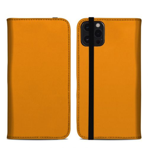 Solid State Orange iPhone 12 Pro Max Folio Case