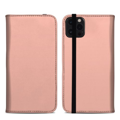 Solid State Peach iPhone 12 Pro Max Folio Case