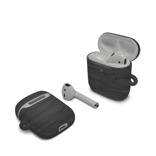 Black Woodgrain Apple AirPods Case