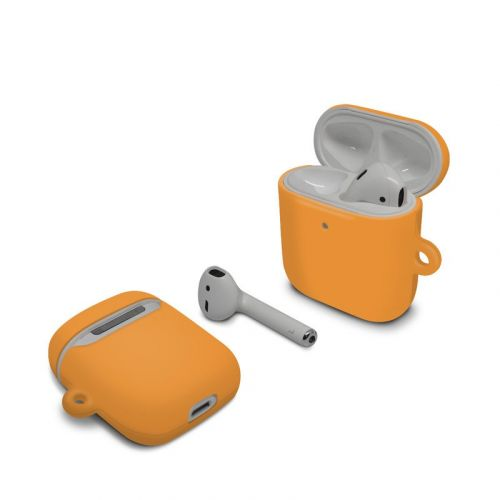 Solid State Orange Apple AirPods Case