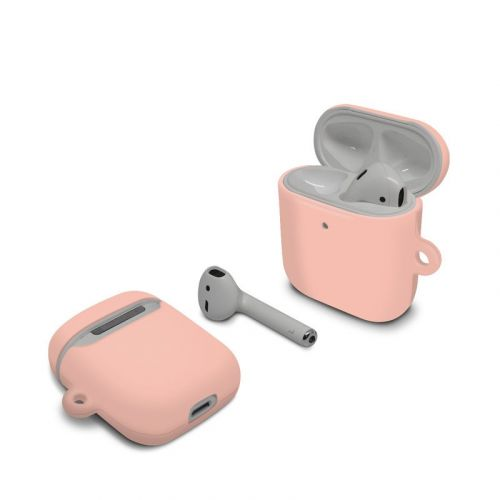 Solid State Peach Apple AirPods Case