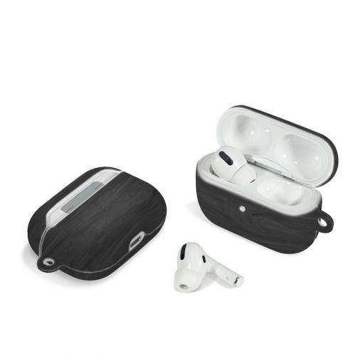 Black Woodgrain Apple AirPods Pro Case
