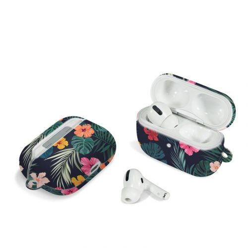 Tropical Hibiscus Apple AirPods Pro Case
