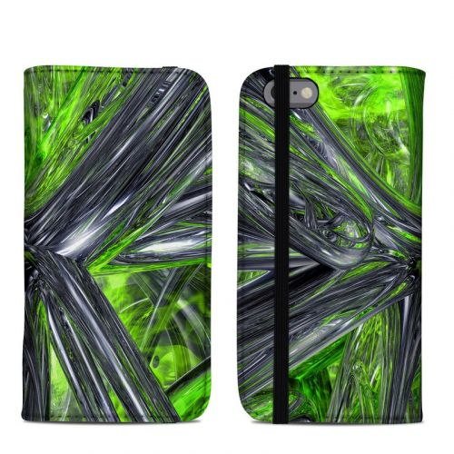 Emerald Abstract iPhone 6s Folio Case