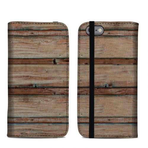 Boardwalk Wood iPhone 6s Folio Case