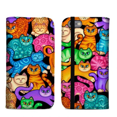 Colorful Kittens iPhone 6s Folio Case