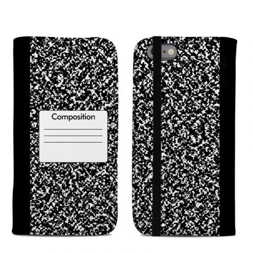 Composition Notebook iPhone 6s Folio Case