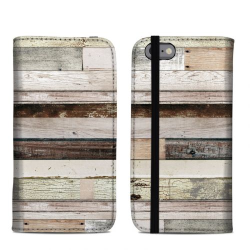 Eclectic Wood iPhone 6s Folio Case
