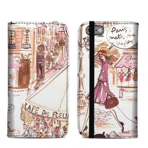 Paris Makes Me Happy iPhone 6s Folio Case