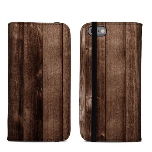 Stained Wood iPhone 6s Folio Case