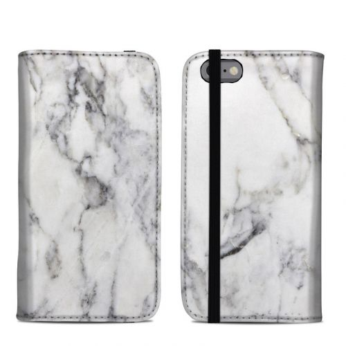 White Marble iPhone 6s Folio Case