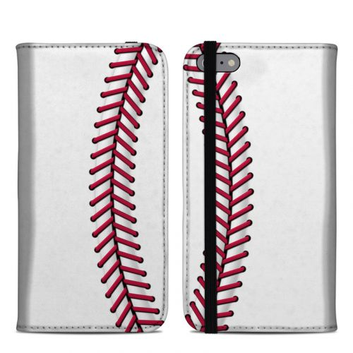 Baseball iPhone 6s Plus Folio Case