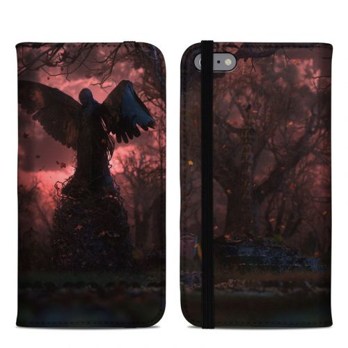 Black Angel iPhone 6s Plus Folio Case