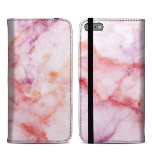Blush Marble iPhone 6 Plus Folio Case