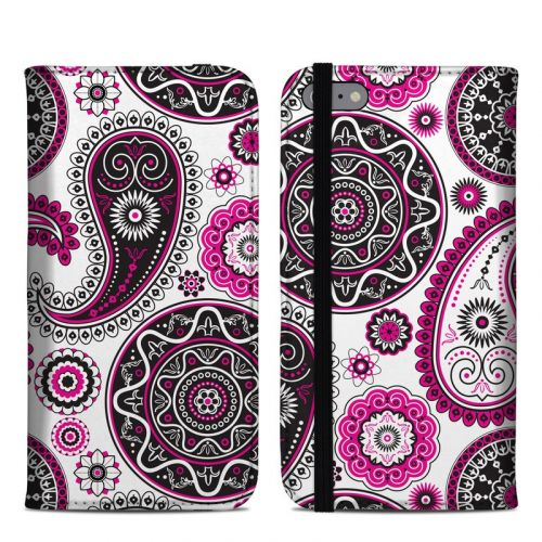 Boho Girl Paisley iPhone 6s Plus Folio Case