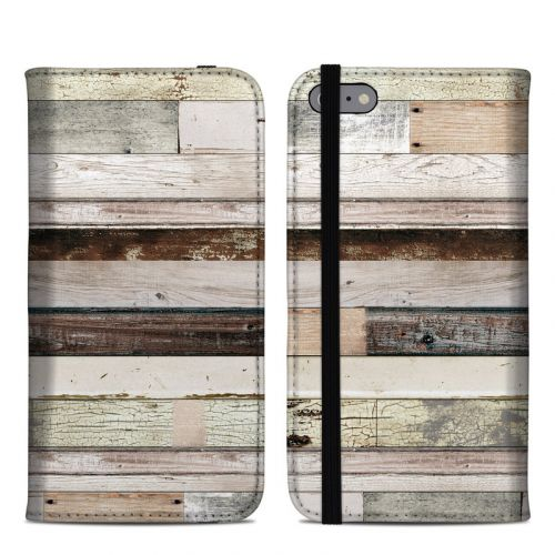 Eclectic Wood iPhone 6s Plus Folio Case