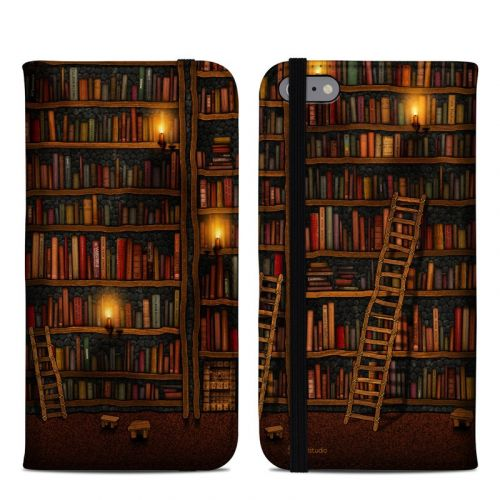 Library iPhone 6s Plus Folio Case