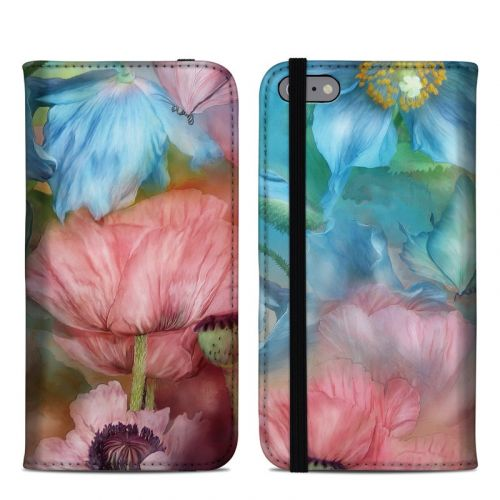 Poppy Garden iPhone 6s Plus Folio Case