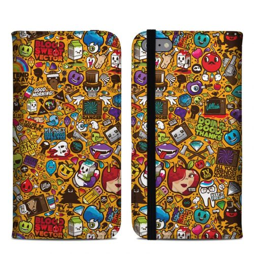 Psychedelic iPhone 6s Plus Folio Case